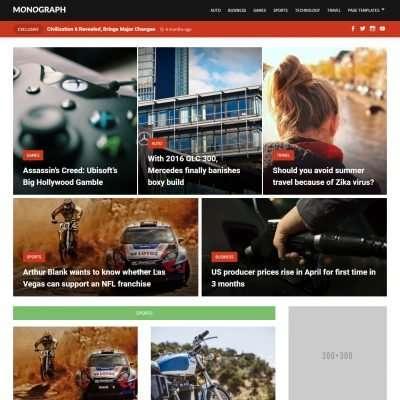 Monograph WordPress Theme