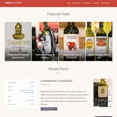 Reviewer WordPress Theme