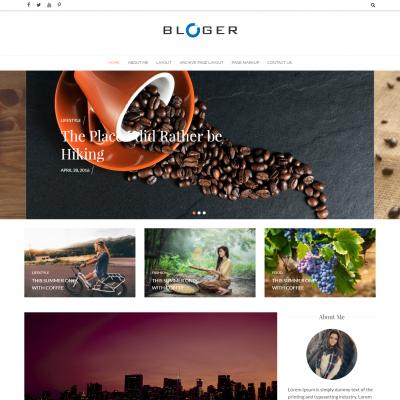Bloger WordPress Theme