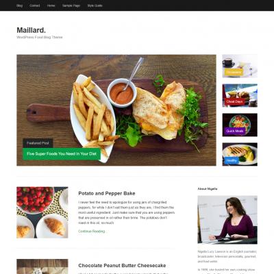 Maillard WordPress Theme