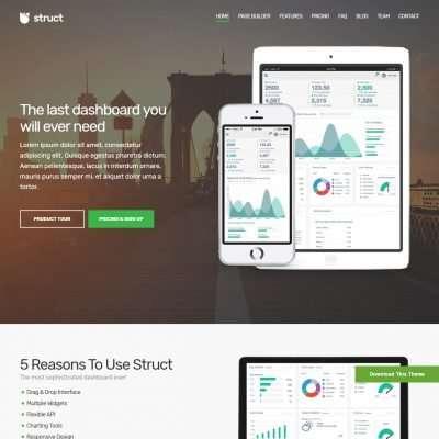 Struct WordPress Theme