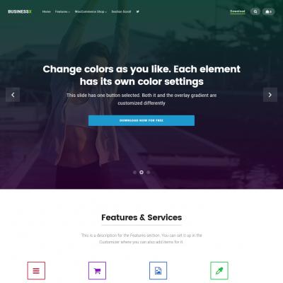 Businessx WordPress Theme