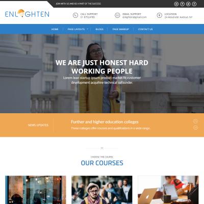 Enlighten WordPress Theme