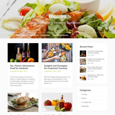 Fooding WordPress Theme
