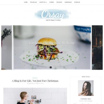 Orsay WordPress Theme