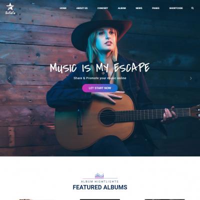 Solala WordPress Theme