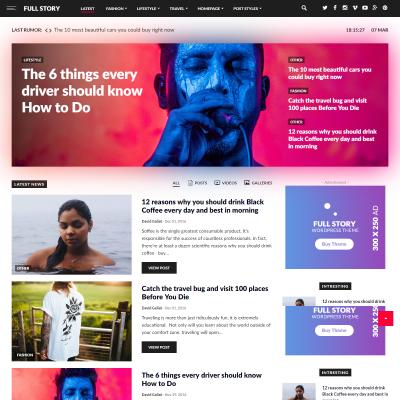 Full Story WordPress Theme
