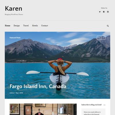 Karen WordPress Theme