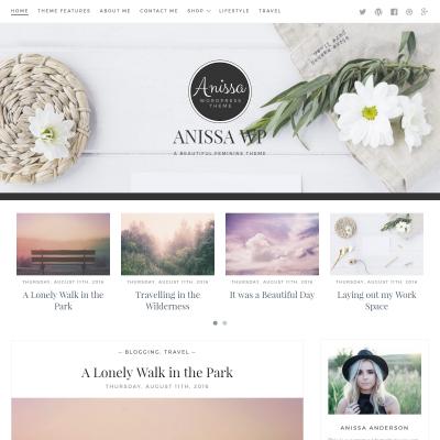 Anissa WordPress Theme