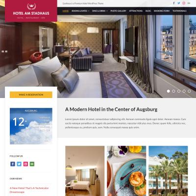 Gasthaus WordPress Theme
