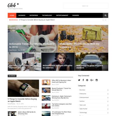 Glob WordPress Theme