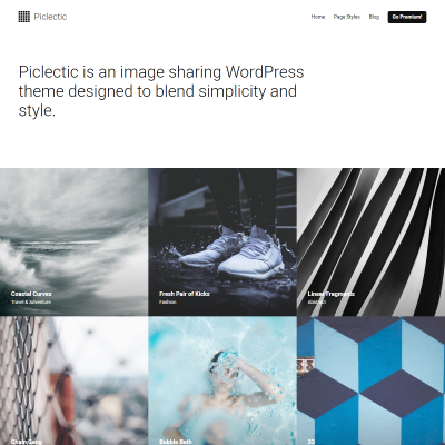 Piclectic WordPress Theme