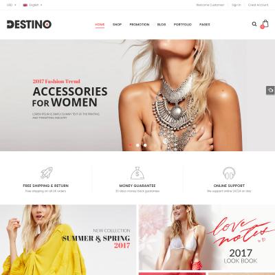 Destino WordPress Theme