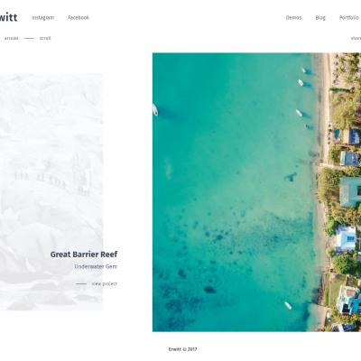 Erwitt WordPress Theme
