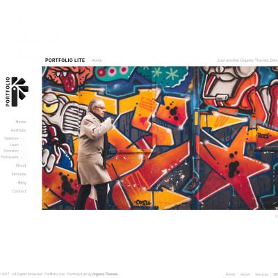 Portfolio Lite WordPress Theme