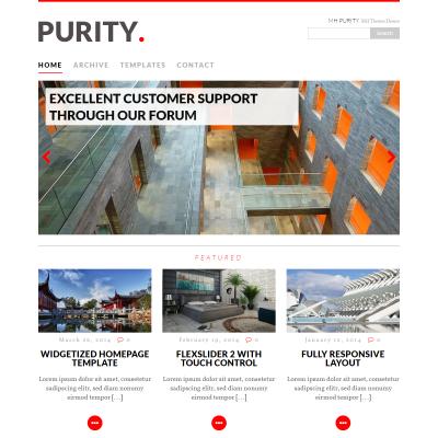 MH Purity WordPress Theme