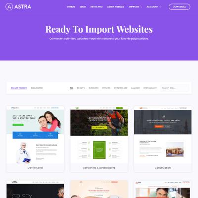 Astra WordPress Theme
