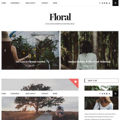 Floral Lite WordPress Theme