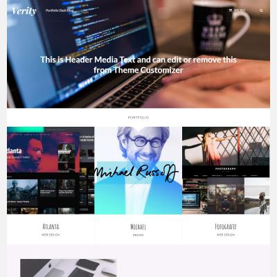 Verity WordPress Theme