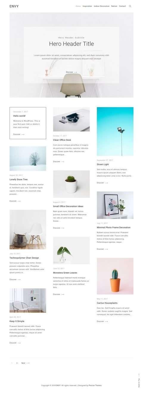 Envy Blog