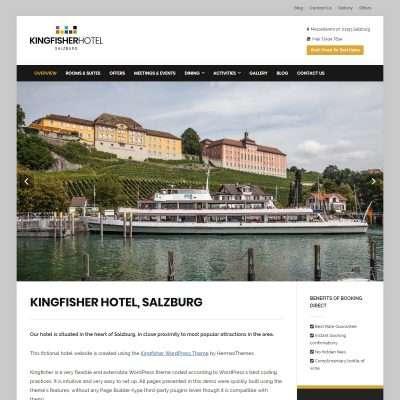Kingfisher WordPress Theme