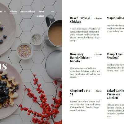 Aperitive WordPress Theme