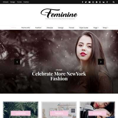 Blossom Feminine WordPress Theme