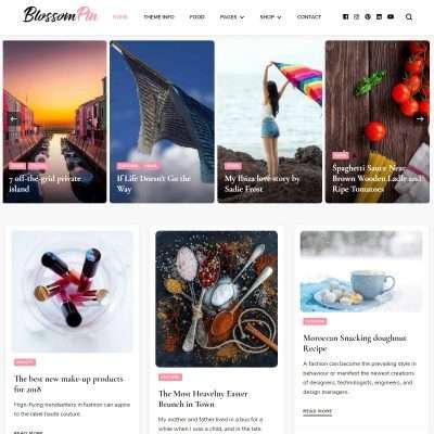 Blossom Pin WordPress Theme