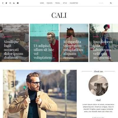 Cali WordPress Theme
