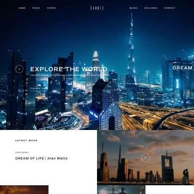 Cannes WordPress Theme