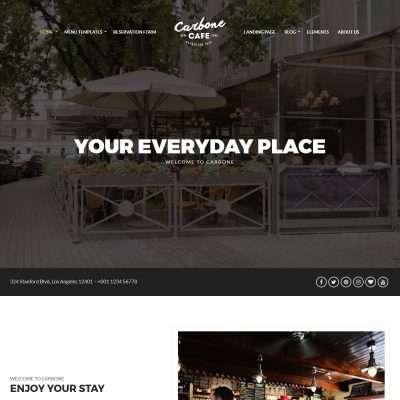 Carbone WordPress Theme