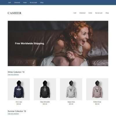 Cashier WordPress Theme