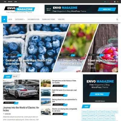Envo Magazine WordPress Theme