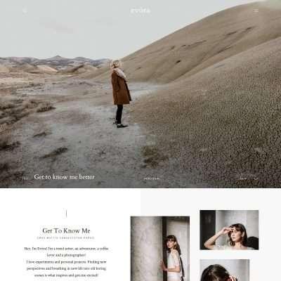 Evora WordPress Theme
