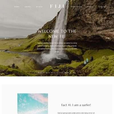 Fiji II WordPress Theme