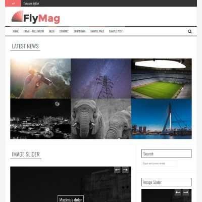 FlyMag WordPress Theme