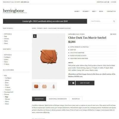 Herringbone WordPress Theme