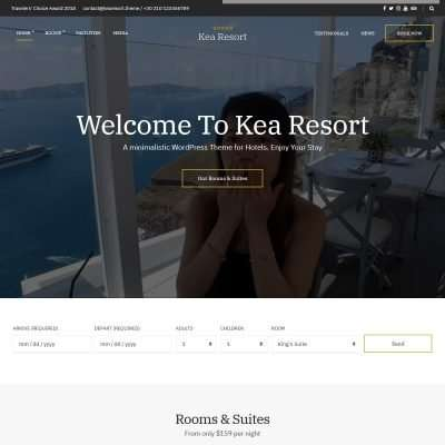 Kea WordPress Theme