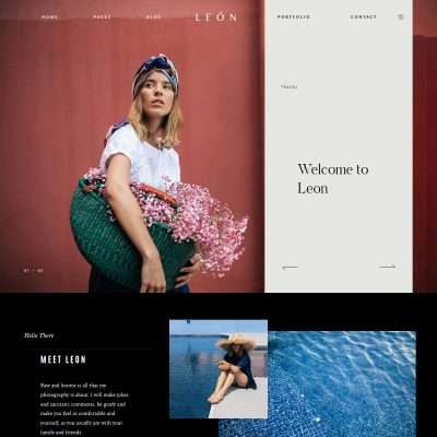 Leon WordPress Theme