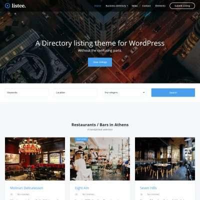 Listee WordPress Theme