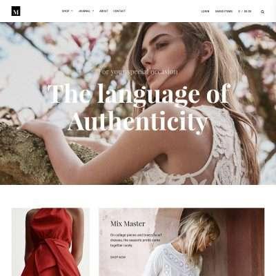 Millennio WordPress Theme