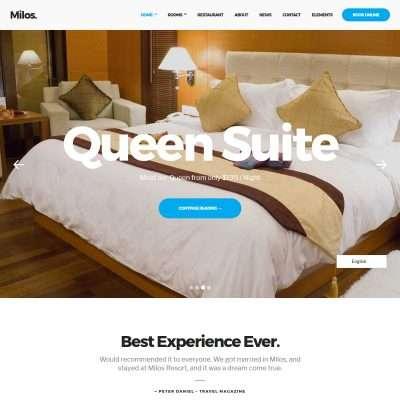 Milos WordPress Theme