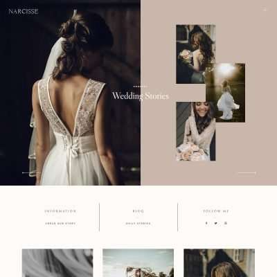 Narcisse WordPress Theme