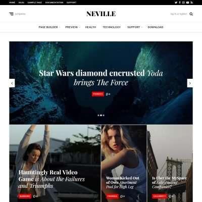 Neville WordPress Theme