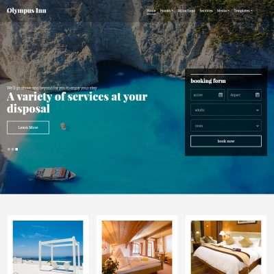 Olympus Inn WordPress Theme