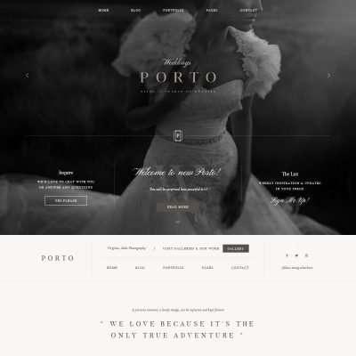 Porto II WordPress Theme