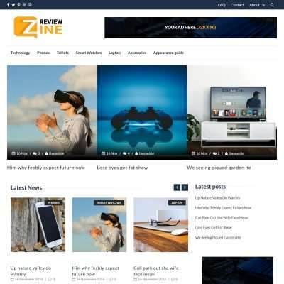 Reviewzine WordPress Theme