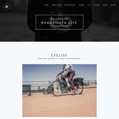 RokoPhoto Lite WordPress Theme