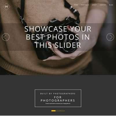 RokoPhoto WordPress Theme