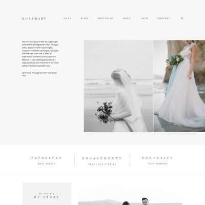 Rosemary WordPress Theme